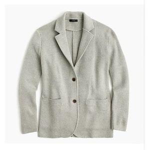 J.Crew Merino wool sweater-blazer-F4493-HTHR DUSK